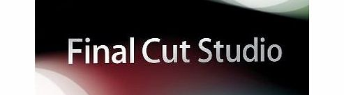 Apple Final Cut Studio, Upgrade Edition