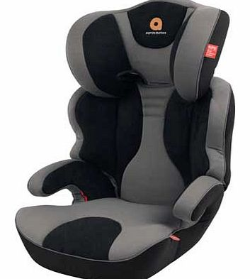 Ostara Group 2-3 Car Seat - Grey/Black
