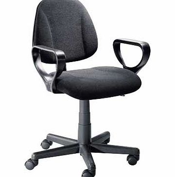 Argos Gas Lift Office Chair - Black