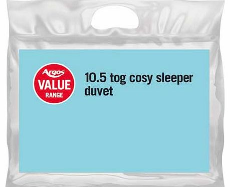 Argos Value Range 10.5 Tog Duvet - Kingsize