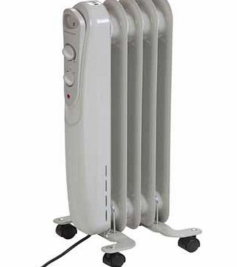 Argos Value Range 1Kw Oil Filled Radiator