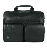Black Laptop Bag / Brief Case