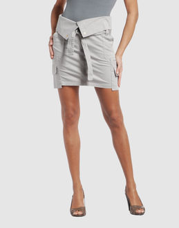 ARMANI JEANS SKIRTS Mini skirts WOMEN on YOOX.COM