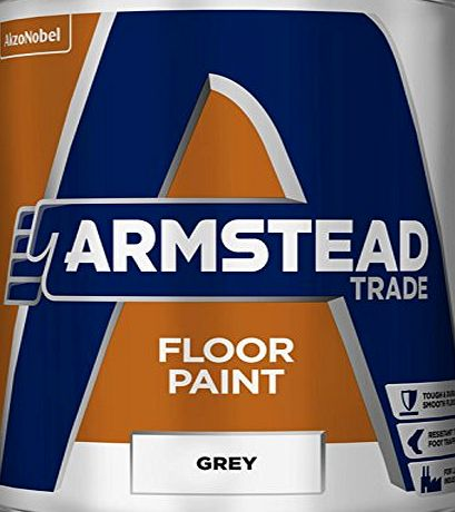 Armstead 5218610 5L Trade Floor Paint - Grey