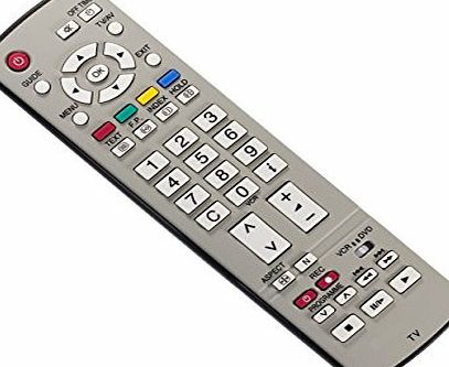 ART LINE ELECTRONICS® REMOTE CONTROL FOR PANASONIC VIERA TV LCD PLASMA TH-37PA60 TH-42PA50 TH-37PV60 TH-42PA60 - REPLACEMENT