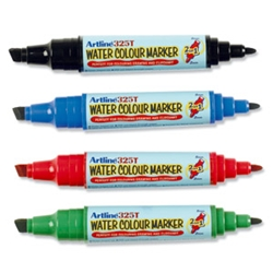 2-in-1 Flowchart Marker Assorted Pack 4