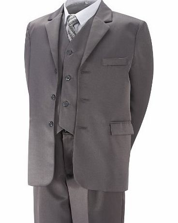Aryan Boys Suit Grey Formal 5 Piece Age 4 year