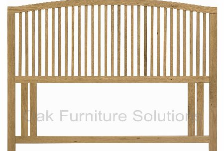 Oak Headboard - Single, Double or King