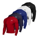 Ashworth Under Armour Heat Gear Compression Long Sleeved Top (Royal Small)