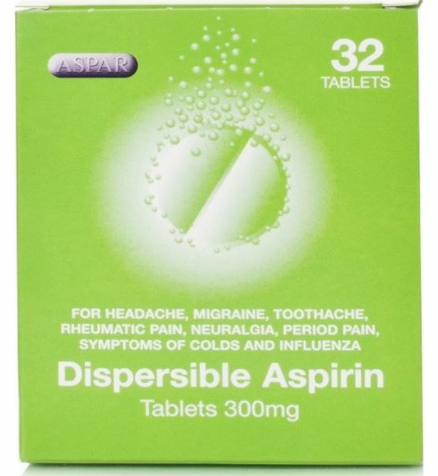 Dispersible 300mg Tablets