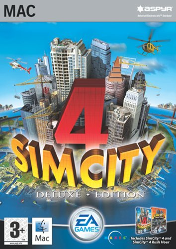 Simcity 4: Deluxe Edition (Mac)