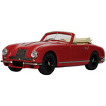 aston martin DB2 Convertible Red