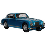 aston martin DB2 Coupe Light Blue