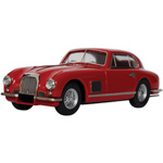 aston martin DB2 Coupe Red
