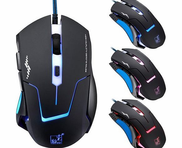 atdoshop Professional 6D 3200DPI LED Optical Wired Gaming Mouse for Pro Gamer