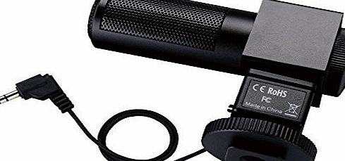 ATian SGC-698 Photography Interview MIC Microphone for Nikon Canon Camera DV Camcorder Canon 1DX 1D MARKIV 5DII 5D3 7D 70D 550D 6D 60D 600D 5D 650D, 100D Nikon D300S / D4 / D35 / D5100 / D5200 / D53