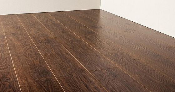 ATR Real Wood Look Texture Co ordinated and Raised Laminate Flooring Has to Be Seen (Dark Oak)