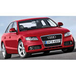 audi A4 2007 Red