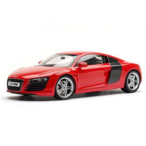 audi R8 - Red 1:18