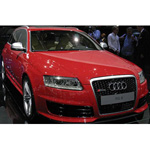 audi RS6 Avant 2007 Metallic Red