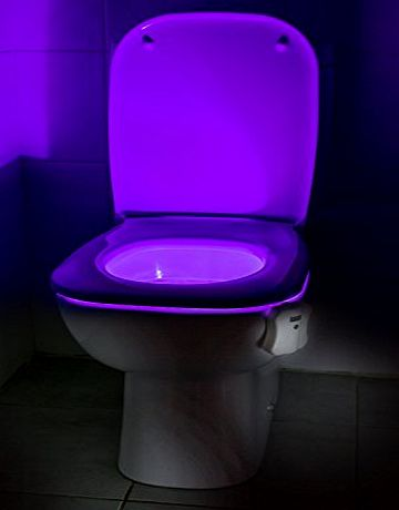 Auraglow Colour Changing LED Motion Activated Sensor Potty Training Toilet Bowl Night Light