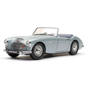 austin Healey 100/6 1956 - Ice blue 1:18