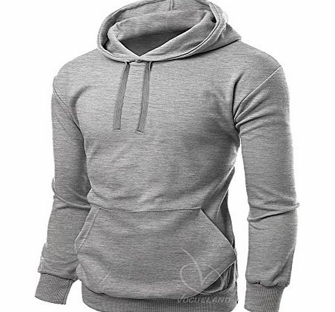 Authentic Mens Hoodies Jogging Novelty Sports Jumper Running Jacket Athletic Outdoor Exercise Fitness Football Joggars Hoody Sizes s M L XL (Medium, Heather Grey)