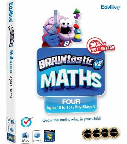 Avanquest Software BRAINtastic Version 2 Maths FOUR