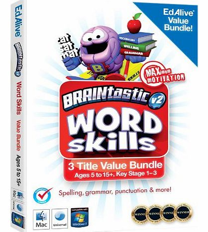Avanquest Software BRAINtastic Version 2 Word Skills Value Bundle