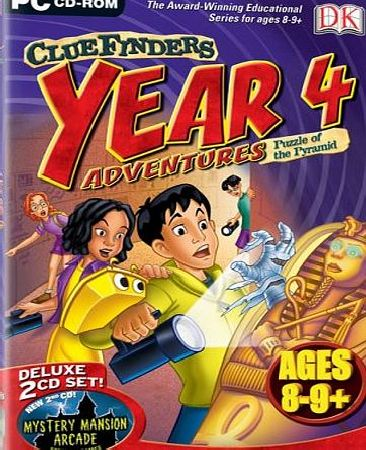 Avanquest Software Cluefinders Year 4 Adventures (Ages 8-9)