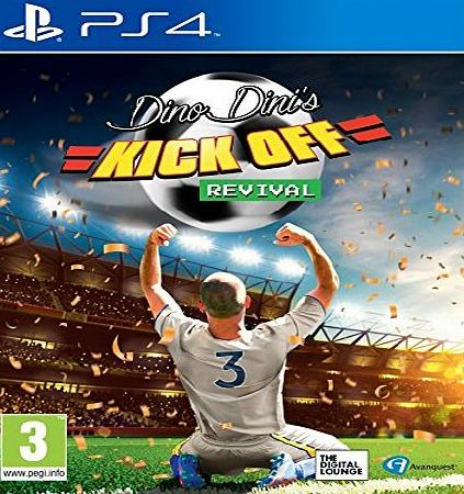 Avanquest Software Dino Dinis Kick Off Revival (PS4)