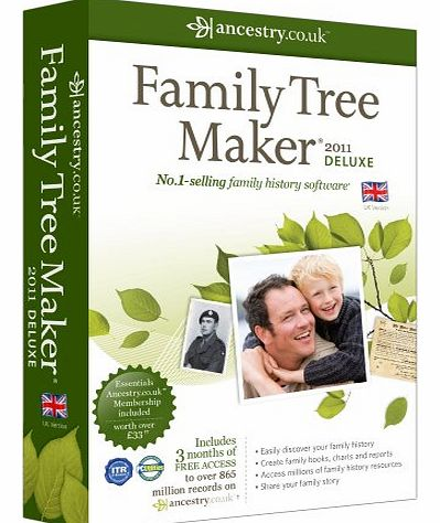 Avanquest Software Family Tree Maker 2011 Deluxe (PC)