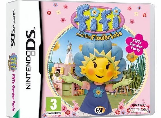 Avanquest Software Fifi and the Flowertots: Fifis Garden Party (Nintendo DS)