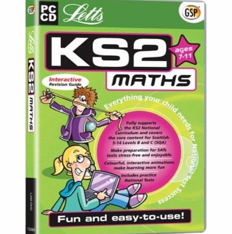 Avanquest Software Letts KS2 Maths Interactive Revision Guide (Ages 7-11) (PC)