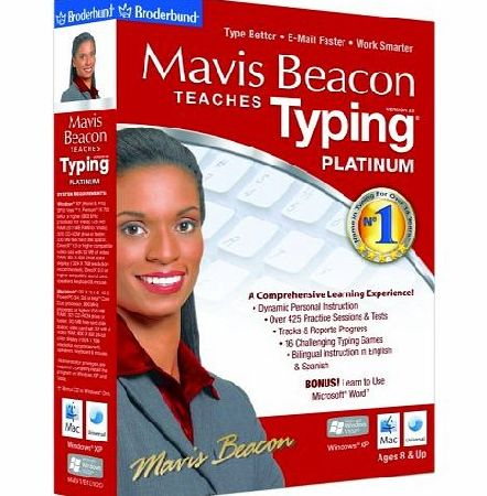 Avanquest Software Mavis Beacon Teaches Typing Platinum V20 (Mac/PC)