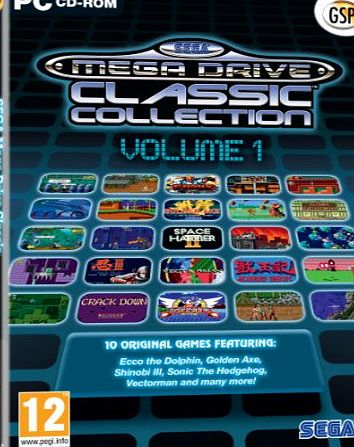 Avanquest Software SEGA MegaDrive Collection 1 (PC DVD)