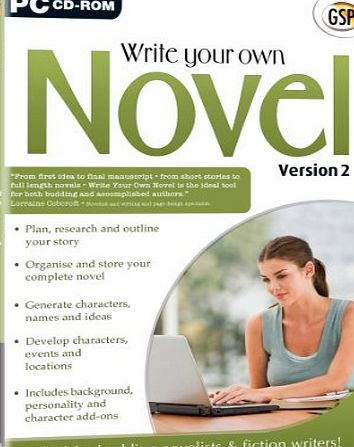 Avanquest Software Write Your Own Novel Standard v2 (PC)