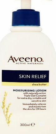 Aveeno body lotion with shea butter 300ml