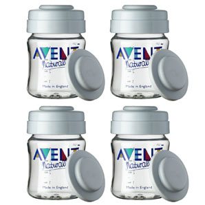 Avent Milk Storage Containers- Pack of Four
