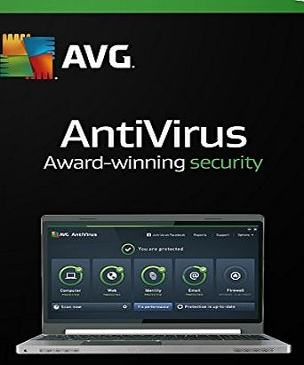 AVG AntiVirus 2016 - 1 User 2 Year (PC)