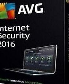 AVG Internet Security 2016 Antivirus Software 2 Years 3PC license code