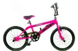 Big Momma Pink Gyro Freestyle BMX with pegs