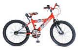 Concept No Fear Red 20` MTB Bike for 7-9 Yrs