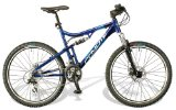 Coyote Jake 17` Dual Suspension Gents Aluminium Dual Disc MTB