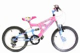 Hocus Pocus 18` Girls Dual Suspension Bike 6-8 Years