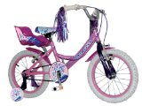 Avocet New Concept Princess Girls 16` Mountain Bike 5-7years