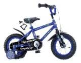New Pedal Pals 12` Boys Spider Bike to suit 3-5yrs