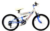 New Skyline Dual Suspension Girls Mountain Bike 7-9yrs