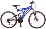 Reflex Marlin 17` Boys Dual Susp Disc Mountain Bike