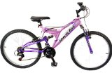 Reflex Rock Fox Girls Dual Suspension Mountain Bike